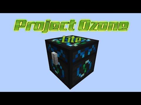 Project Ozone Lite - ENERGY CONDENSER MK2 [E44] (HermitCraft Server Modded Minecraft Sky Block)