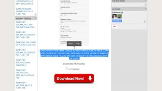 SYMPHONY I10 HW1 V17 CM2 READED STOCK ROM FLASH FILE NOT