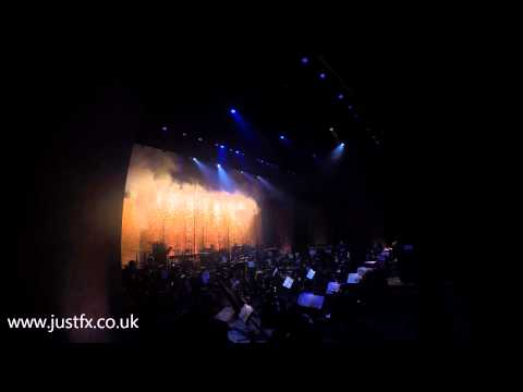 Classic FM Live at the Wales Millennium Centre - 1812 Overture - Pyro by Just FX
