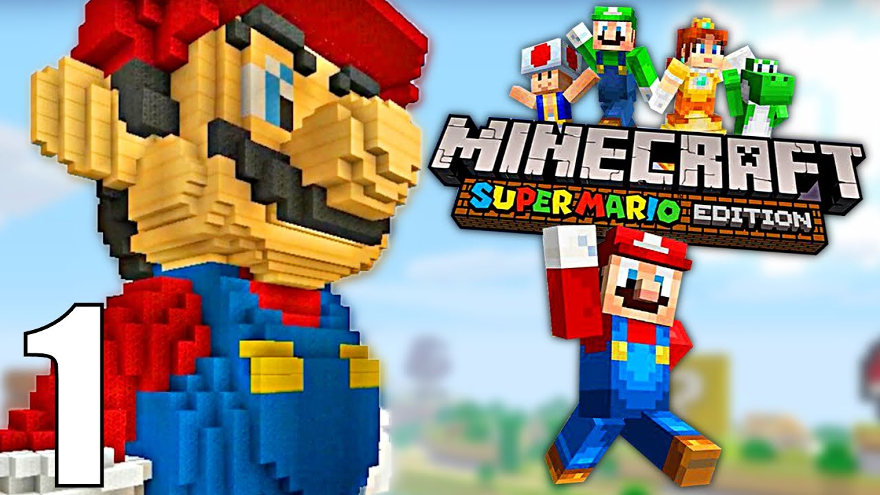 Super Mario Minecraft Nintendo Wii U Fr L Exploration Commence