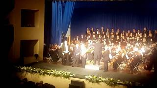 16.02.2018 BISCEGLIE Katia Ricciarelli canta al Teatro Politeama