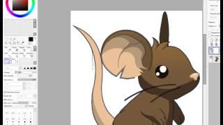 Видео урок для начинающий рисовать по программе Paint Tool Sai(Надеюсь я вам помогла, если что просите, я вам ещё помогу по этой программе! :3 Моя подруга спросила: Вот нажим..., 2015-08-29T13:25:10.000Z)