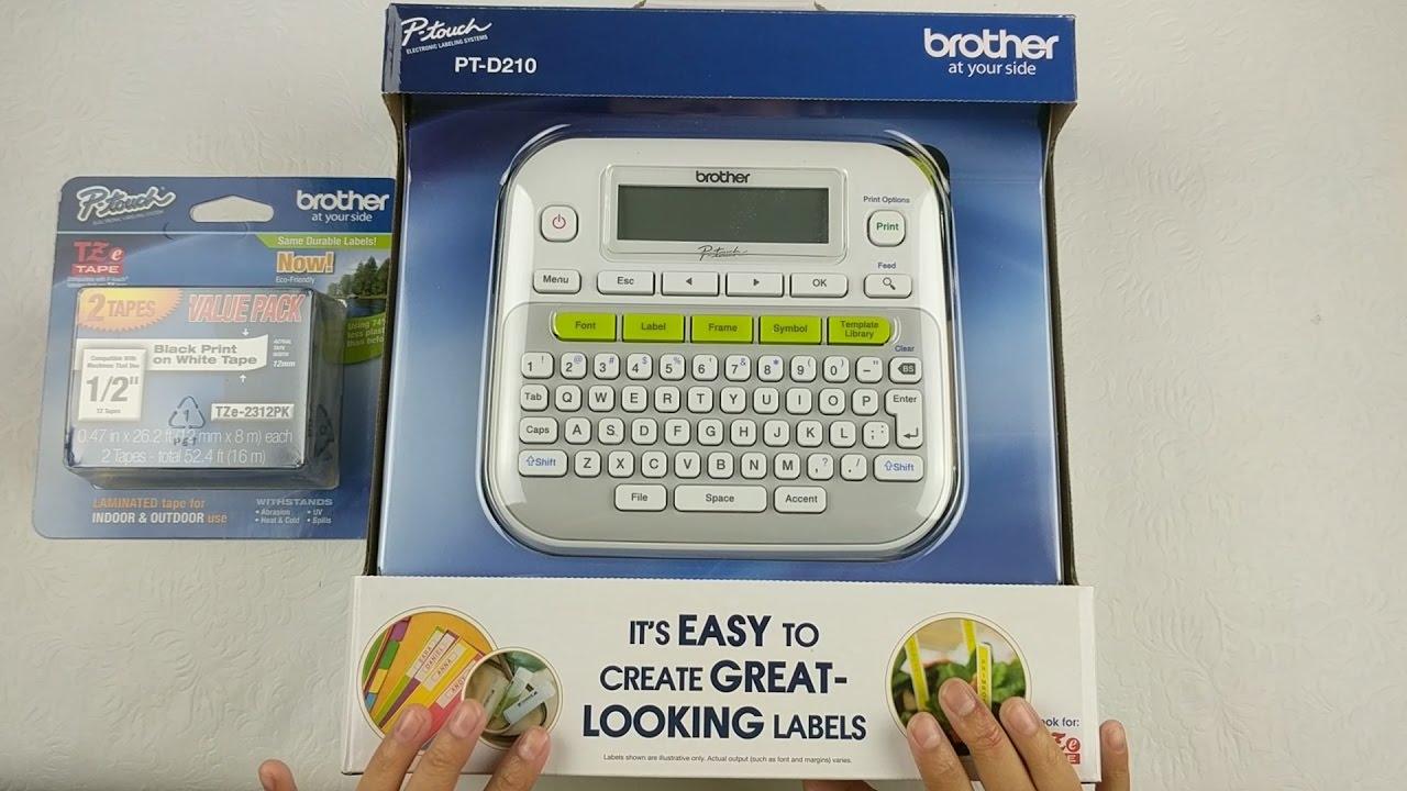 Brother Label Maker