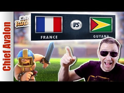 MGL WORLDS:  FRANCE vs GUYANA - Clash Royale eSports