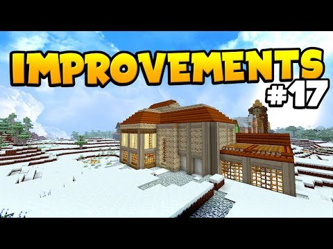 IMPROVEMENTS TO THE HOME : Minecraft Riverfell (#17) - Live