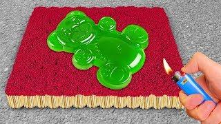 EXPERIMENT: 1000 Matches VS Jelly Bear