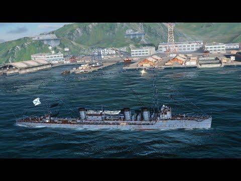 Играем в: World of Warships Blitz | MADE IN USSR #8