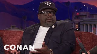 """Cedric """"The Entertainer"""" Is A Hotel Book Thief  - CONAN on TBS"""