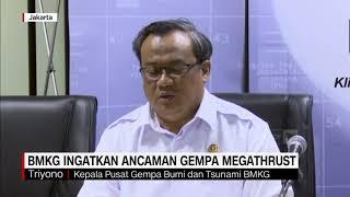 BMKG Ingatkan Ancaman Gempa Megathrust