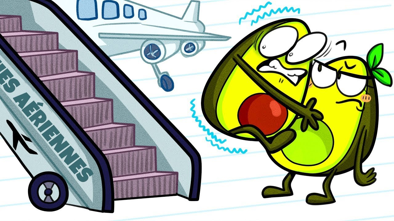Les Légumes S'affolent En Avion