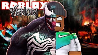 TRANSFORMING INTO VENOM!! | Roblox Superheroes vs Villains Tycoon