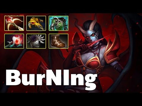 Queen of Pain Carry By IG.Burning
