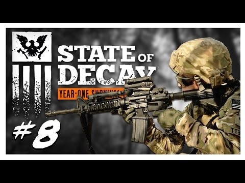 ARMY SIGHTING | State of Decay Gameplay Part 8 - Year One Survival Edition Walkthrough