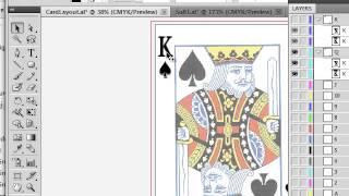 Playing Card Design in Illustrator