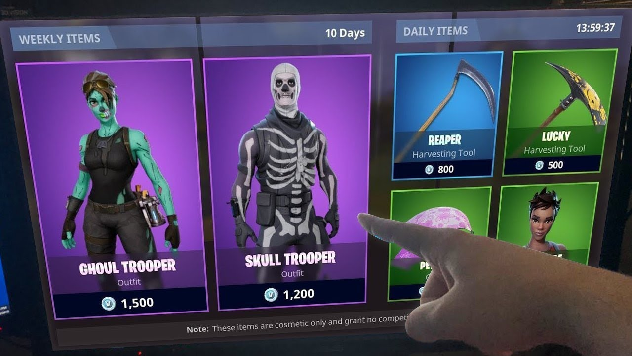 How To Buy The Skull Trooper Today 2018 Ghoul Trooper