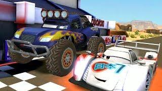 Shu Todoroki VS Monster Blue & Mcqueen Disney PIXAR CARS Racing Game Play