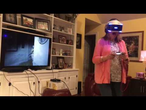 Mom mistakes PlayStation VR real life