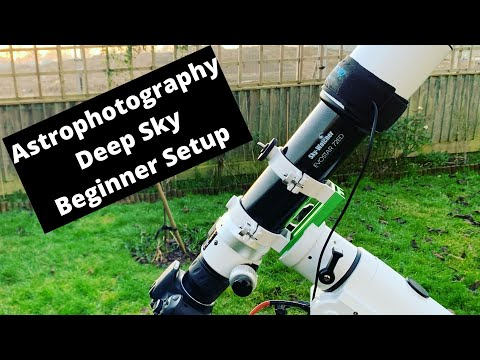 Astrophotography Deep Sky Beginner Setup