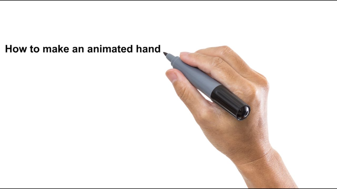 Handwriting animation