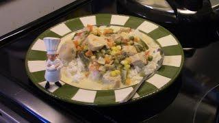 Pressure Cooker Creamy Chicken Succotash with Chef Antonio Bourbon