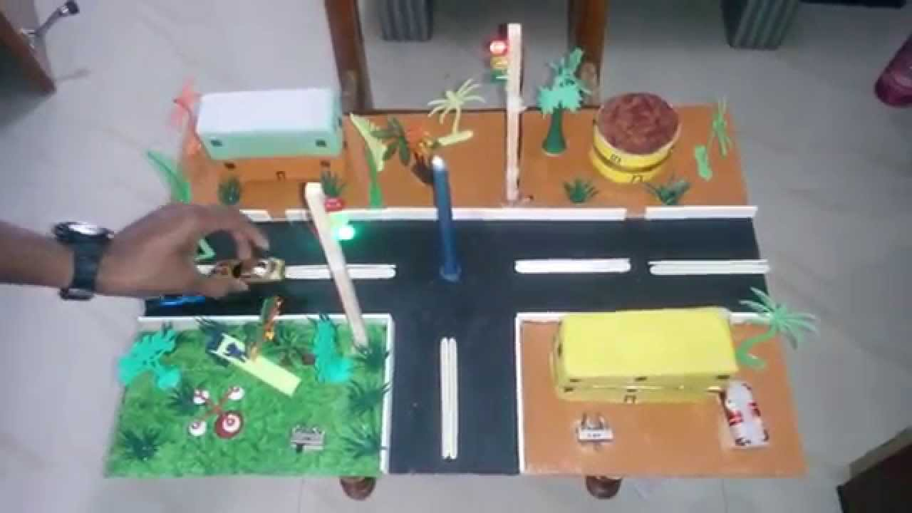 Traffic Signal - Transportation Exhibition model - Science ...