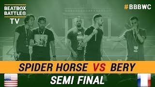 Bery vs Spider Horse - Tag Team Semi Final - 5th Beatbox Battle World Championship