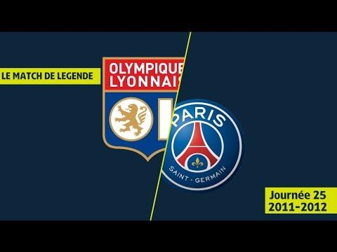 Résumé Olympique Lyonnais - Paris Saint-Germain (4-4) OL / PSG - 2011/2012 - Ligue 1 Legends