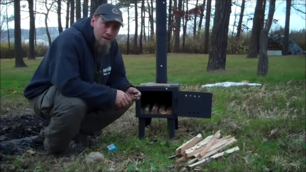 hq issue wood stove youtube
