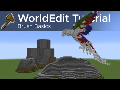 WorldEdit Guide #6 - Beginning With Brushes