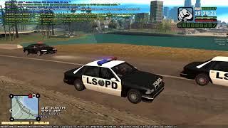 Net4game.com [LSPD][FBI] Pościg za kradzionym Hustlerem.