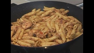 """ CHICKEN PASTA HOT "" Bajias Cooking"