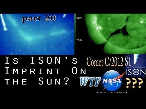 Comet ISON WTF NASA? Is ISON affecting the...