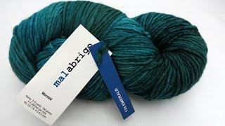 Review of Malabrigo Worsted Yarn