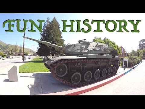 Big Toys, American History, & Palm Trees!