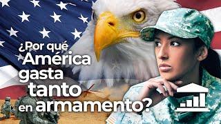 ¿Por qué EEUU tiene el ejército MÁS GRANDE DEL MUNDO? - VisualPolitik