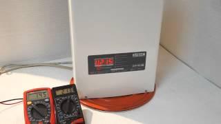 Обзор симисторного стабилизатора напряжения Ампер 12-1-40