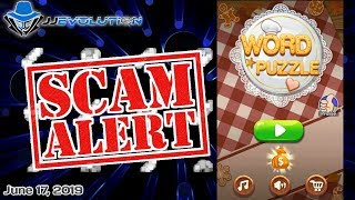 WORD PUZZLE - SCAM OR LEGIT - App Review (Tagalog)