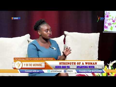Strength of a woman hosting Teresia Warui