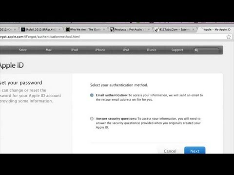 How to Activate a Disabled iTunes Account : Help With iTunes
