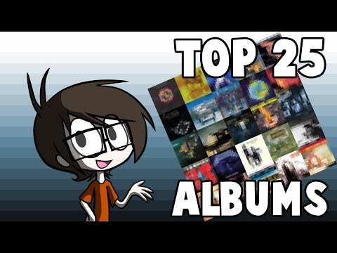 My Top 25 Favorite Albums (that I own) #25-#11