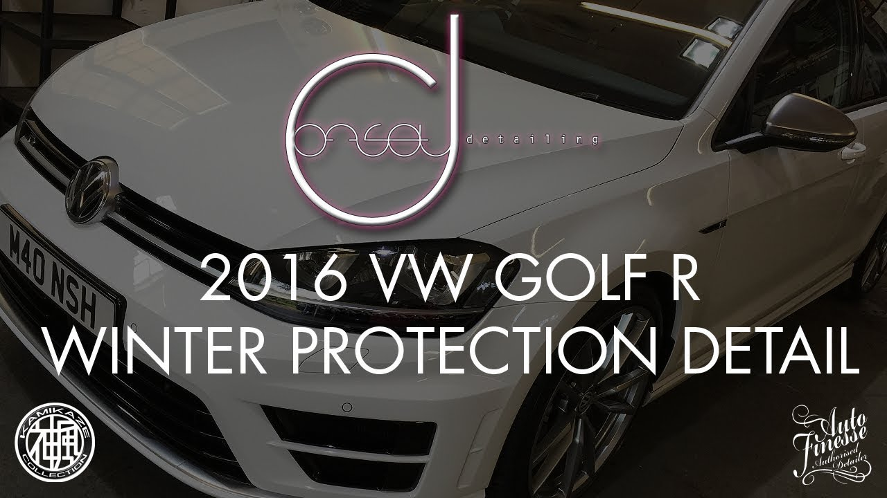 2016 Vw Golf R Winter Protection Detail Offset Detailing Essex