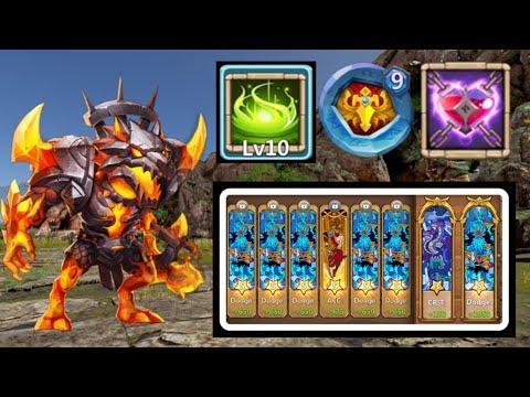 Anubis   10/10 Vigorous Fury   9 Blade Dance   Dodge   Malaise   Gameplay   Castle Clash
