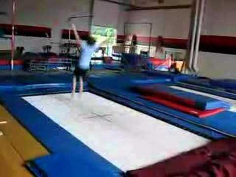 gymnastics trampoline youtube. Black Bedroom Furniture Sets. Home Design Ideas