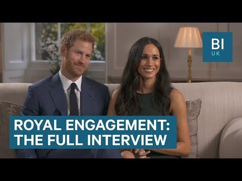 Watch Prince Harry and Meghan Markle's first interview since their engagement in full