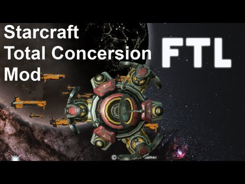 FTL Mod Playthroughs Episode 36: Starcraft Total Conversion [Science Vessel] (Episode 1)