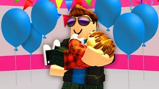 I ADOPTED A BABY! (Roblox)