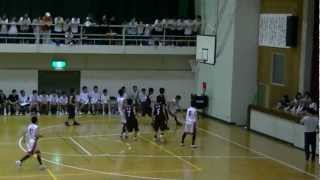 2012 福山市春季総体中学バスケ決勝 松永vs鷹取 3