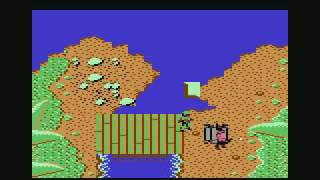 Ikari Warriors (c64) longplay 1/2