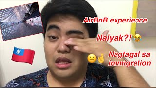 Gambar cover How to get to Taipei City from Taoyuan Airport[Tagalog] + AirBnB experience (Day 1 in Taiwan)