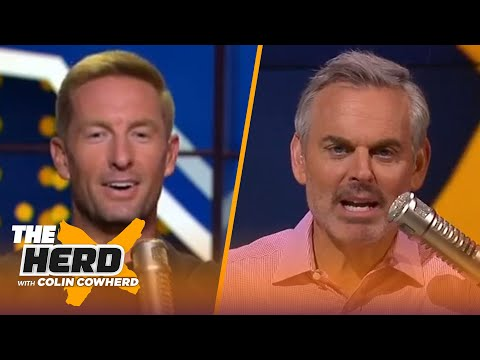 Joel Klatt & Colin Cowherd's 2021 mock NFL draft | NFL | THE HERD